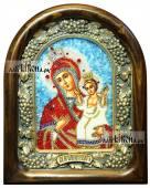 Нечаянная Радость, икона из бисера