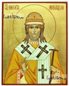 Никита Новгородский рукописная икона артикул 6280