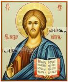 Икона Господа с поясным изображением артикул 608