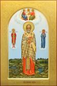 Мирон Критский святитель мерная рукописная икона