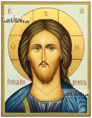 Спаситель оплечный, писаная икона, артикул 622