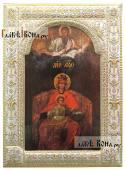 Державная Божия Матерь в Коломенском икона в ризе окладе