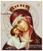 Игоревская Богородица рукописная икона маслом артикул 262
