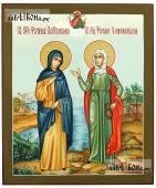 Рукописная икона с двумя Фотиниями, артикул 441