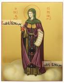 Писаная иконы Ирины Каппадокийской (Хрисоволанты)