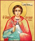 Александр Риский икона написаная в живописном стиле
