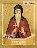 Писаная икона Даниила Столпника преподобного