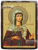Анна Готфская, икона состаренная 18х24 см