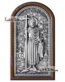 Князь Владимир серебряная икона артикул 11253