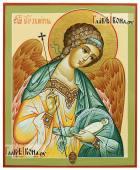 Фотография писаной иконы Ангела Хранителя с душой артикул 718