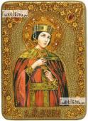 Александра Римская икона на дубовой доске 21х29 см