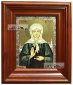 Матрона Московская, икона печатная в киоте