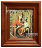 Скоропослушница Божия Матерь икона печатная в киоте