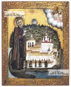 Нил Столобенский, печатная на дереве икона