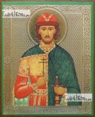 Борис благоверный князь, икона литография