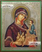 Гора Нерукосечная Божия Матерь, икона литография