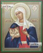 Калужская Божия Матерь икона литография