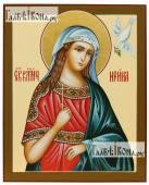 Ирина рукописная икона с голубем артикул 6188