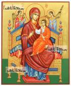 Рукописная икона Всецарицы артикул 266
