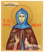 Мария Радонежская, писаная икона