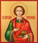 Святой Целитель Пантелеймон, икона артикул 009