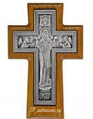 Крест православный с Богородицей
