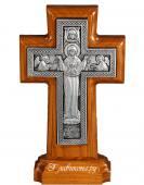 Крест с Богородицей на подставке - фото