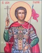 Поясная икона Георгия Победоносца артикул 6016