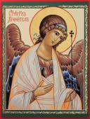 Ангел Хранитель икона печатная на дереве