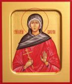 Валерия мученица, икона печатная на дереве
