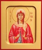 Варвара великомученица икона печатная на дереве