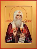 Ермоген Патриарх Московский икона на дереве печатная