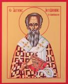 Иоанн Милостивый святитель икона на дереве печатная