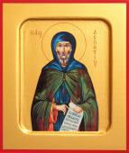 Леонтий преподобный, печатная икона