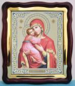 Владимирская Божия Матерь аналойная икона 43 х 50 см