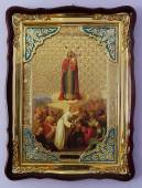 Всех скорбящих Радость Божия Матерь, икона храмовая
