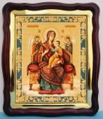 Всецарица Божия Матерь, большая аналойная икона, 43 х 50 см