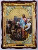 Вход в Иерусалим, икона храмовая