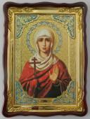 Галина мученица, икона храмовая