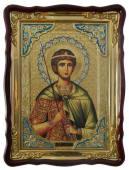 Дмитрий Солунский (с мечом), икона храмовая
