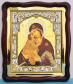 Донская Божия Матерь аналойная икона 43 х 50 см