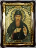 Захарий преподобный, икона храмовая
