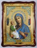 Иерусалимская Божия Матерь, икона храмовая