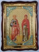 Иоаким и Анна икона храмовая