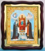 Киево - Печерская Божия Матерь аналойная икона 43 х 50 см