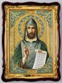 Кирилл равноапостольный, икона храмовая