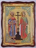Константин и Елена, икона храмовая