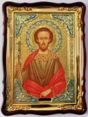 Леонид святой мученик, икона храмовая