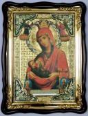 Млекопитательница Божия Матерь, икона храмовая