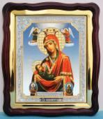 Млекопитательница Божия Матерь аналойная икона 43 х 50 см